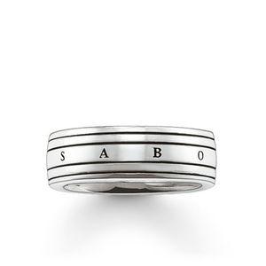 Preview image of Thomas Sabo Rebel Band Ring Size 60
