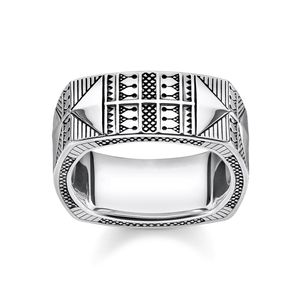 Preview image of Thomas Sabo Squared Patterned Ethnic Ring