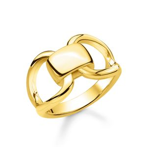Preview image of Thomas Sabo Yellow Gold Plated Heritage Ring Size 54