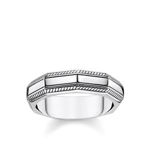 Preview image of Thomas Sabo Sterling Silver Rebel Angular Ring