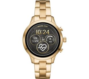 Preview image of Michael Kors Connected Yellow Gold Plated Stainless Steel Smartwatch
