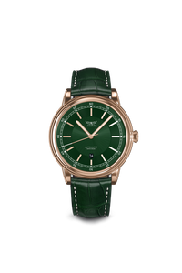 Preview image of Aviator Green Douglas Stainless Steel Gents Automatic Green Strap Watch