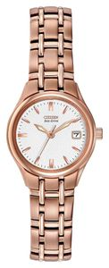 Preview image of Citizen Women's Silhouette Stainless steel Rose Gold Plated Bracelet Watch