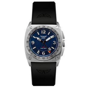 Preview image of Aviator MIG-29 GMT Blue Strap Watch