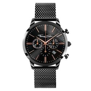 Preview image of Thomas Sabo Black Eternal Rebel Mesh Watch