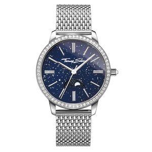 Preview image of Thomas Sabo Glam Spirit Moonphase blue ladies bracelet watch