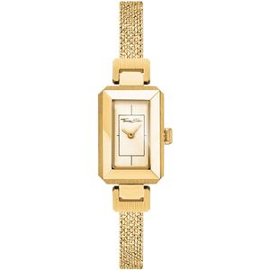 Preview image of Thomas Sabo Mini Vintage ladies Yellow Gold Plated mesh bracelet watch