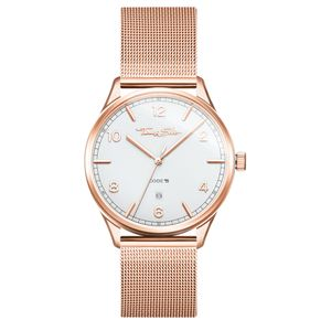 Preview image of Thomas Sabo Code Milanese Rose Gold Plated Bracelet Watch