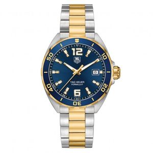 Preview image of Tag Heuer Formula 1 Bi-Coloured  Blue Gents Watch