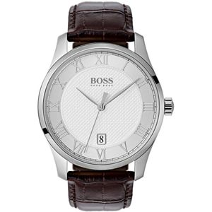 Preview image of Hugo Boss White Dial Black Master Watch