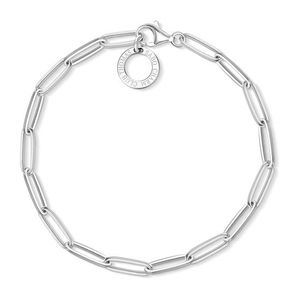 Preview image of Thomas Sabo Paper Clip Style Charm Bracelet