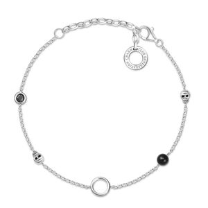Preview image of Thomas Sabo Charm Club Onyx Skulls