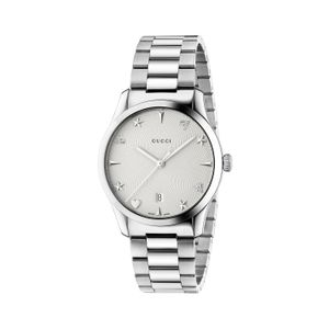 Preview image of Gucci Timeless Bee Star and Heart Silver Dial Bracelet Watch
