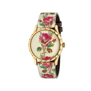 Preview image of Gucci G-Timeless Floral Strap Watch