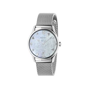 Preview image of Gucci G-Timeless 36mm Mother Of Pearl Mesh Bracelet Watch