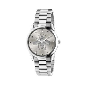Preview image of Gucci G-Timeless 38mm Bee Steel Bracelet Watch