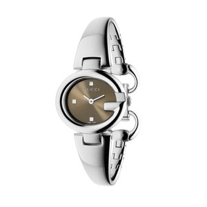 Preview image of Gucci Guccissima Small Brown Bangle Watch