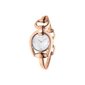 Preview image of Gucci Horsebit Rose Diamond Set Bangle Watch