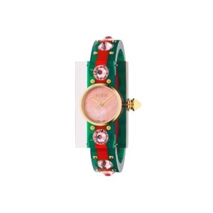 Preview image of Gucci Vintage Pink Mother of Pearl Resin Bracelet Watch
