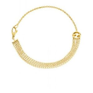 Preview image of Gucci 18ct Gold Multi Chain Bracelet 18cm
