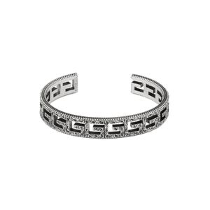 Preview image of Gucci G-Cube Sterling Silver Bangle 10mm