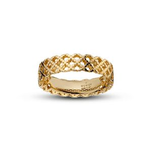 Preview image of Gucci Diamantissima 18ct Yellow Gold Ring