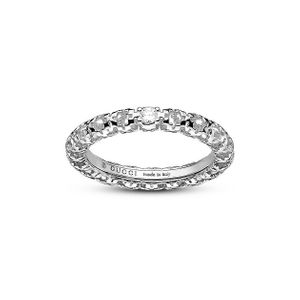 Preview image of Gucci Diamantissima 18ct White Gold Ring