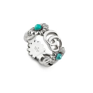 Preview image of Gucci GG Flower Multi Stone Ring