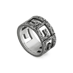 Preview image of Gucci G-Cube Silver 10mm Ring
