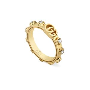 Preview image of Gucci GG Yellow Gold 0.30CT Diamond Ring