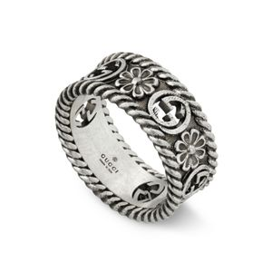 Preview image of Gucci Interlocking G Flower Ring